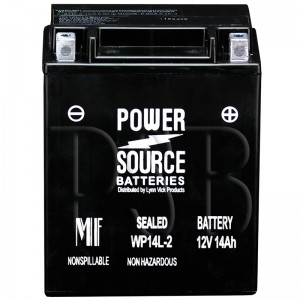 Arctic Cat 1992 Panther 440 0650-178 Snowmobile Battery Sealed