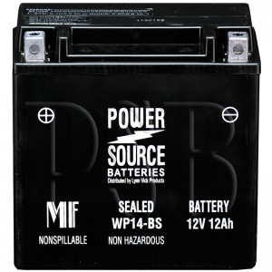 WP14-BS Motorcycle Battery replaces 65948-00 for Harley