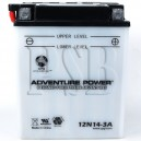 Ski Doo 12N14-3A Snowmobile Replacement Battery