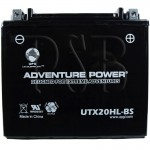 Ski Doo 515175642 Snowmobile Replacement Battery Dry