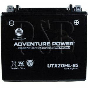 Ski Doo YTX20L-BS Snowmobile Replacement Battery Dry