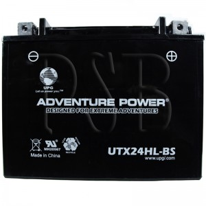 Ski Doo YTX24L-BS Snowmobile Replacement Battery Dry