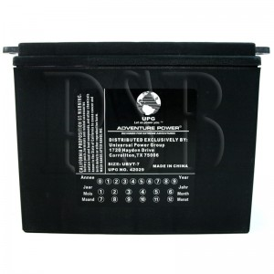 1972 FLH 1200 Electra Glide Motorcycle Battery for Harley