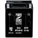 Polaris 1989 Big Boss 250 W898627 ATV Battery Sealed AGM