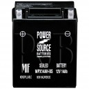 Polaris 1995 Scrambler 400 4X4 W957840 ATV Battery Sealed AGM