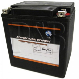 UBVT-2 Motorcycle Battery replaces 66010-97B for Harley