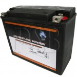 Harley Davidson 66010-82A Replacement Motorcycle Battery HD UBVT-6