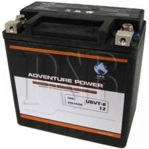 UBVT-8 Motorcycle Battery replaces 65948-00A for Harley