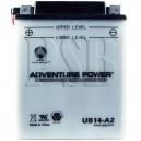Arctic Cat 1996 454 4X4 96A4A-AP ATV Battery