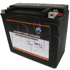 UBVT-1 Motorcycle Battery replaces 65989-90A for Harley