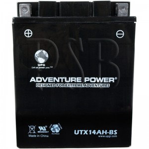 Polaris 1989 NOR 500 Classic N890865 Snowmobile Battery Dry AGM