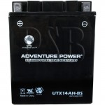 Polaris 1996 Euro Trail Touring 500 E962262 Snowmobile Battery Dry
