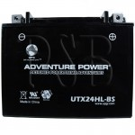 Polaris 1990 Indy Trail Deluxe 500 0900262 Snowmobile Battery Dry