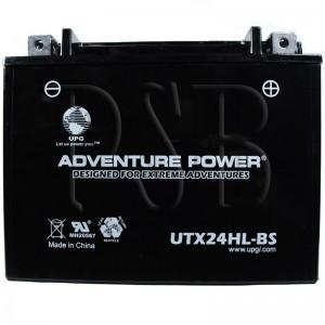 Polaris 2000 Euro Widetrak LX 500 E01SU4BU Snowmobile Battery Dry
