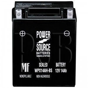 Polaris 1991 500 0910764 Snowmobile Battery Sealed AGM