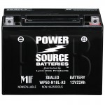 Polaris 1991 Indy Trail Deluxe 500 0910262 Snowmobile Battery AGM