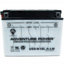 Polaris 1987 NOR Indy 600 Trail ES N870757 Snowmobile Battery HP
