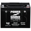 Polaris 1987 Indy 600 Trail ES 0870757 Snowmobile Battery AGM
