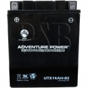 Polaris 1998 Euro Ultra Touring 680 E985378 Snowmobile Battery Dry