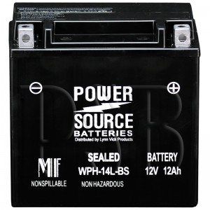 2009 XL1200L Sportster 1200 Low Motorcycle Battery for Harley