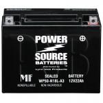 Polaris 2012 Widetrak LX 500 S12SU4BEL Snowmobile Battery AGM