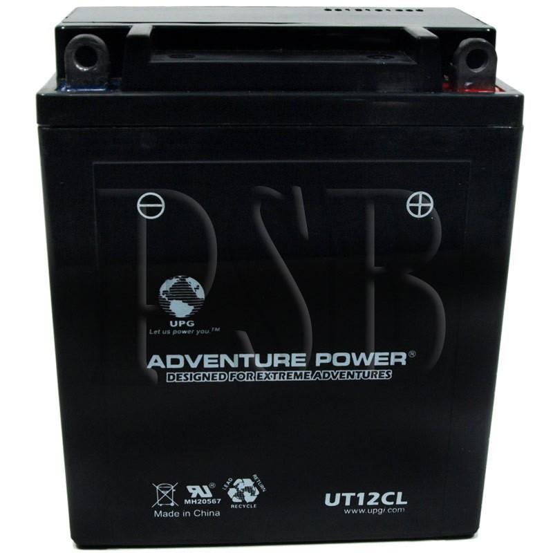 Yamaha 1999 virago xv 535 xv535lc motorcycle battery for Yamaha motorcycle batteries