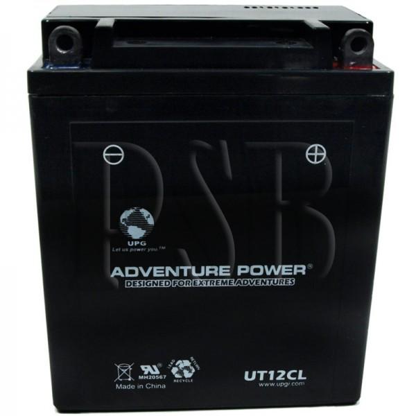 Yamaha 1994 virago xv 535 xv535sf motorcycle battery for Yamaha motorcycle batteries