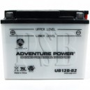 Yamaha 1987 BW 350 Big Wheel BW350T Motorcycle Battery