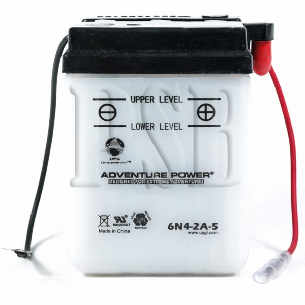 Yamaha 1980 dt 100 enduro dt100g motorcycle conventional for Yamaha motorcycle batteries
