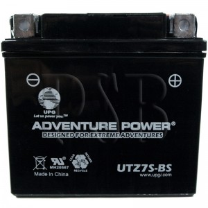 Yamaha 2012 WR 250 R, WR25RBCL Motorcycle Battery Dry