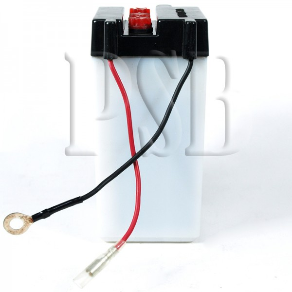 Yamaha 1982 xt 125 xt125j motorcycle conventional battery for Yamaha motorcycle batteries