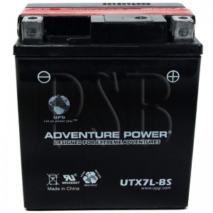 Yamaha 1993 XT 225 Serow XT225EC Motorcycle Battery Dry
