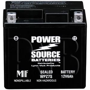 Yamaha 2012 Zuma YW 50 YW50FBL Scooter Battery AGM Upgrade