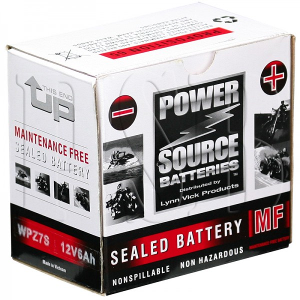 yamaha 2004 zuma yw 50 yw50s scooter battery higher power sealed maintenance free oem fit. Black Bedroom Furniture Sets. Home Design Ideas