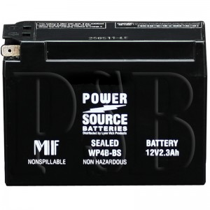 Yamaha YT4-BBS00-00-00 Scooter Replacement Battery AGM