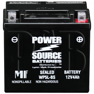 Yamaha GTX-5LBS0-00-00 Scooter Replacement Battery AGM