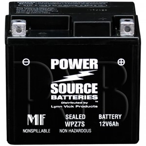 Yamaha BTY-YB7CA-00-00 Scooter Replacement Battery AGM