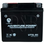Yamaha YTX5L-BS Scooter Replacement Battery Dry