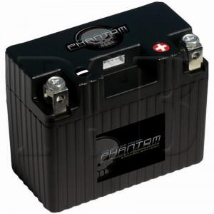 Phantom APP09L2-BS12 Lithium Iron LifePO4 Motorcycle Battery