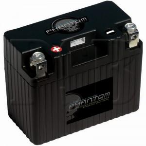 Phantom APP14A1-BS12 Lithium Iron LifePO4 Motorcycle Battery