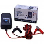 Adventure Power 6v 12v 750mA 3-Stage Battery Tender Charger Maintainer