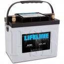 GPL-24T Lifeline 12 Volt 80ah Group 24 Deep Cycle Marine Battery