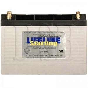 GPL-3100T Lifeline 12 Volt 100ah Group 31 Marine Starting Battery