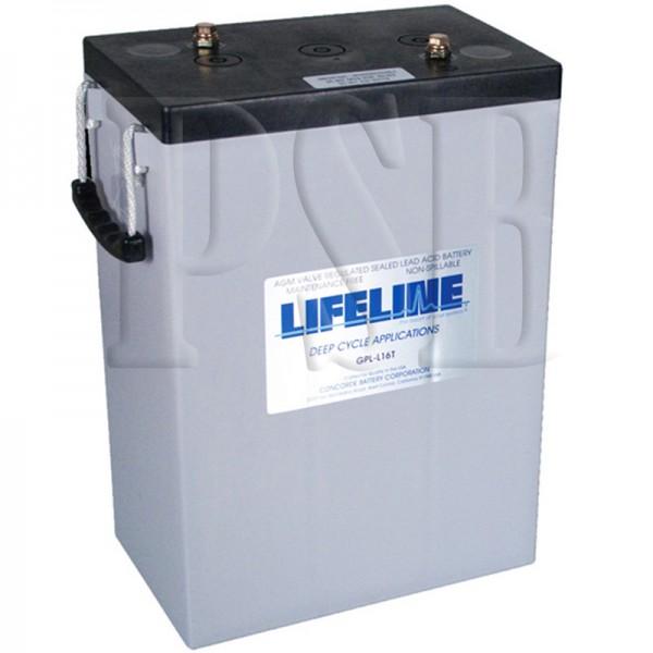 Gpl L16t Lifeline Oem 6 Volt 400ah L16 Sealed Agm Deep