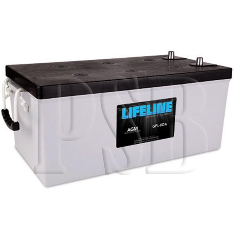 Gpl 8da Lifeline Oem 12 Volt 255ah 8d Sealed Agm Deep