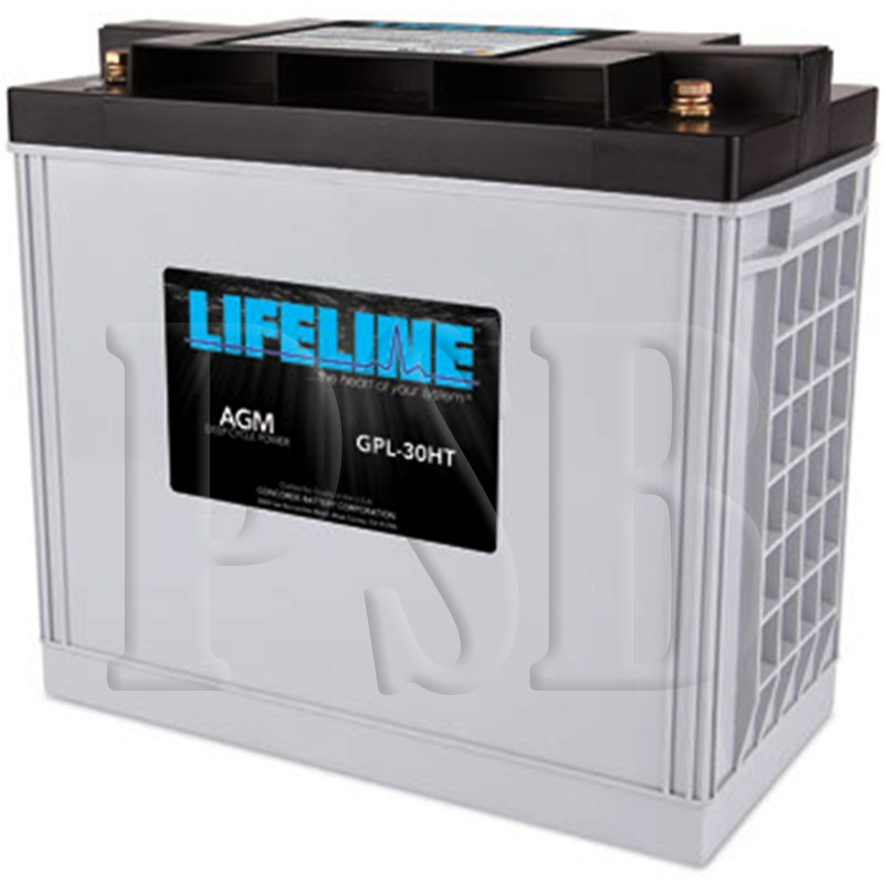 gpl 30ht lifeline oem 12 volt 150ah sealed agm deep cycle rv battery free shipping. Black Bedroom Furniture Sets. Home Design Ideas