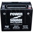 Arctic Cat 0645-020 Snowmobile Replacement Battery Sealed HD