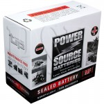Harley 2007 FLSTC Peace Officer Special Edition Motorcycle Battery