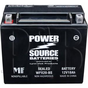 Arctic Cat 1995 EXT 580 Powder Special 95ETD Snowmobile Battery