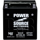 WPX30L-BS 30ah Battery replaces Bikers Choice YIX30L BAT, 48-5003